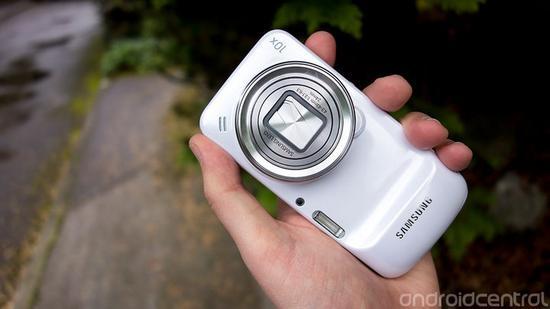 ▲三星 Galaxy S4 Zoom 图片来自:Android Central