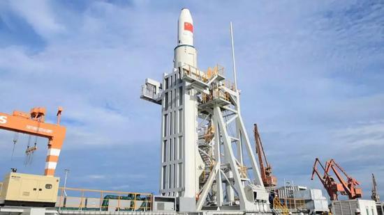 △长征十一号运载火箭