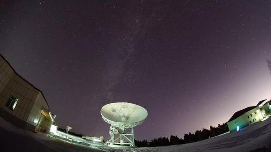 图2 南山26米射电望远镜