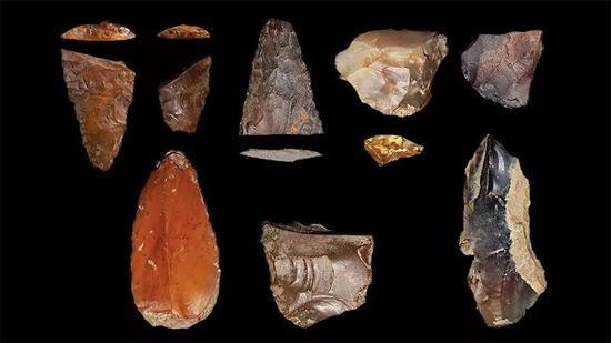 这些在爱达荷州发掘出的石制品可能属于北美洲最早的一批住民。