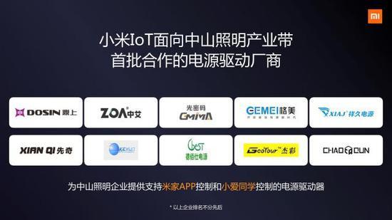 小米IoT合作伙伴大会召开:公布智能照明开放计划