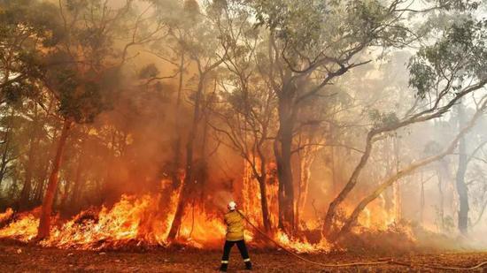 男子因澳洲大火失去家園后命中477萬彩票大獎