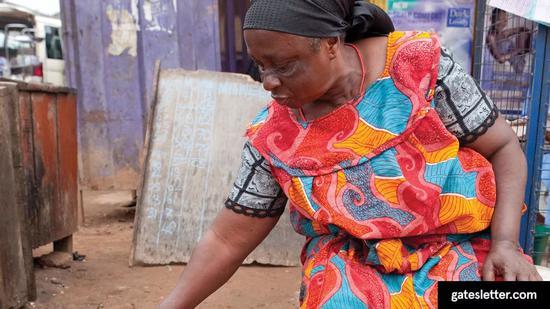 ▲像这位妇女一样的小农户将是受气候变化打击最严重的人群。