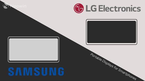 报道称LG和三星都在为智能手机开发便携式显示屏配件 支持易于使用的有线或无线连接