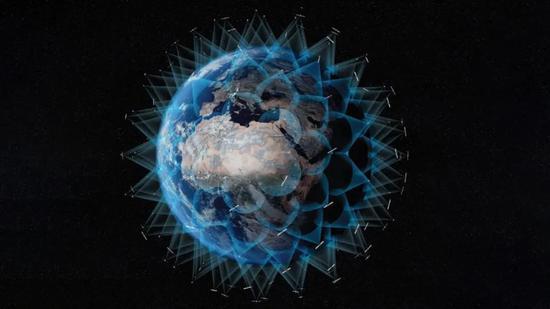 越来越众的人工卫星会影响地球上的射电看远镜,图片来自,ESA-SCIENCE OFFICE
