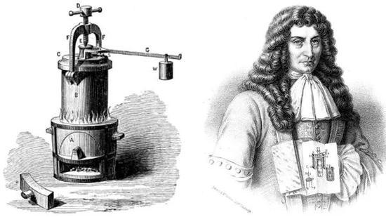 帕平安他发明的高压锅
