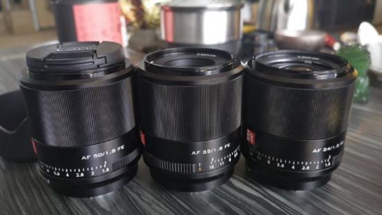 唯卓仕将发布三支索尼FE镜头