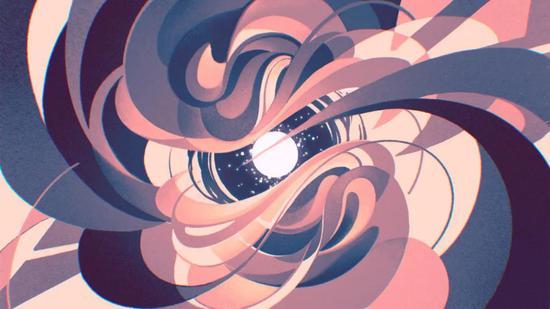 基本粒子是组成宇宙的基础物质,但同时它也尤为奇怪。(绘图:Ashley Mackenzie/Quanta Magazine)