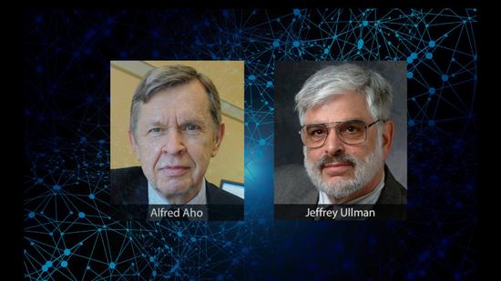图 | 哥伦比亚大学计算机科学名誉教授 Alfred Vaino Aho、斯坦福大学计算机科学名誉教授 Jeffrey David Ullman