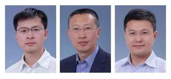 ▲本研究的三位通讯作者李伟研究员、周琪研究员、以及胡宝洋研究员(图片来源:中国科学院动物研究所)