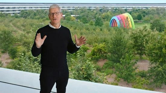 ▲苹果CEO Tim Cook