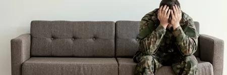 """▲如果无法消除恐惧或创伤的经历,可能出现""""创伤后应激障碍""""(PTSD)(图片来源:123RF)"""