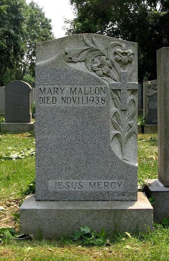 玛丽火化后被葬在纽约的圣雷蒙德墓园。