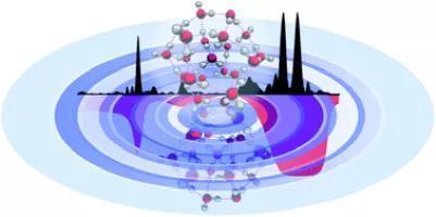 水分子会调集构成水滴,通过光谱学办法能够提示,多少个水分子可体现出水的微观性质。 来自论文