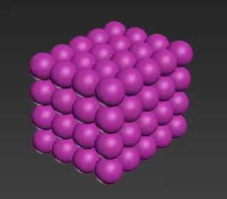 晶体的微观结构(图片来历:作者制作)