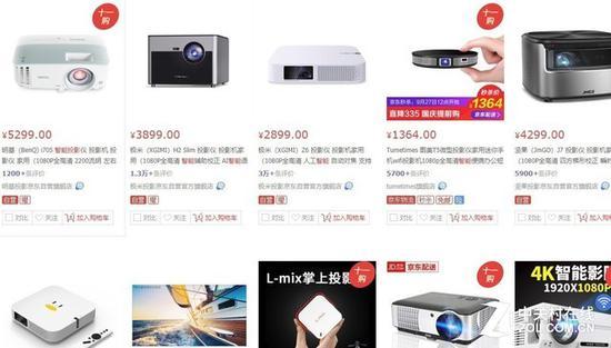 1080P已经成为了智能投影市场的主流