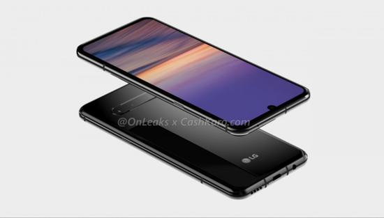 LG G9渲染图曝光 采用后置横向四摄+6.7至6.9英寸屏幕