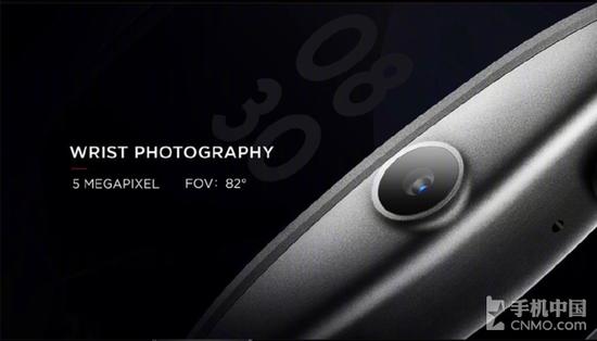努比亚α拥有一颗500万像素摄像头