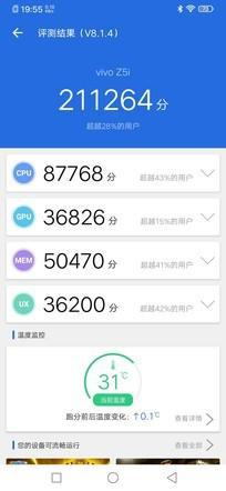 配备盐都区0毫安时大电量手机 vivo Z重庆i全面评测
