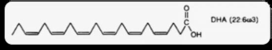 DHA的分子式