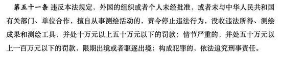 中华人民共和国测绘法 图片来源:中国人大网