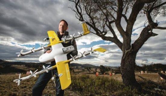 谷歌Wing拿到运营牌照 一名操控员可操作五架无人机