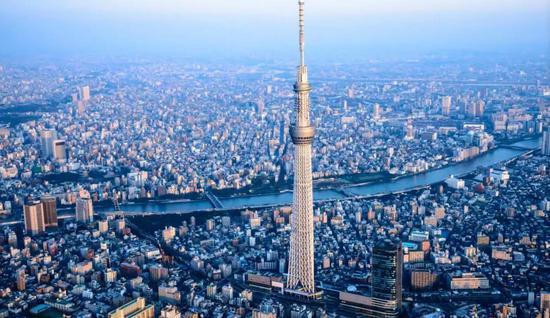 人口接近3000万的超级大都市——东京