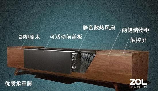 市场上已经有了激光电视专用电视柜