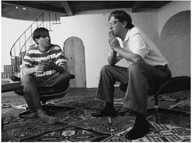 Steve Jobs 和Bill Gates