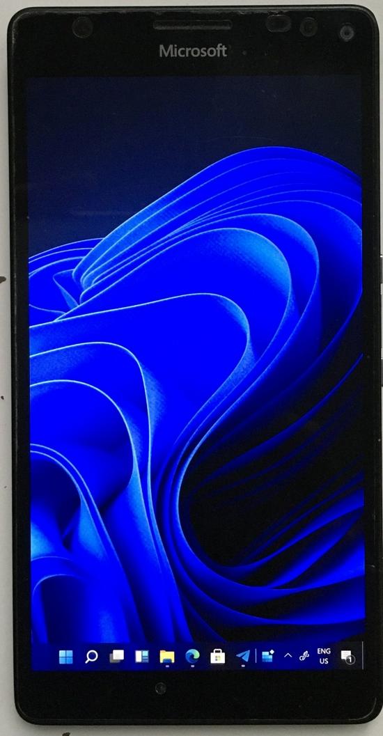 微软Lumia 950 XL刷入Win11新进展:支持全新电话拨号器