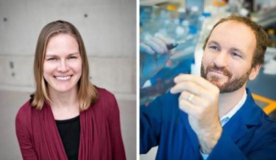 ▲主导这项研究的Janel Kopp教授和James Johnson教授(图片来源:UBC)
