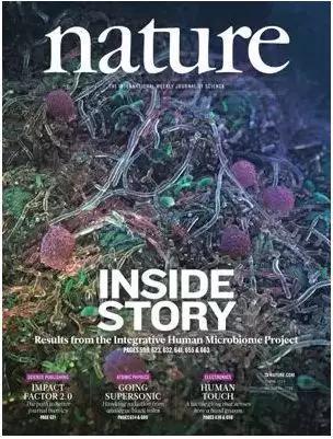 2019年5月30日《自然》封面聚焦人类微生物组整合计划(iHMP)