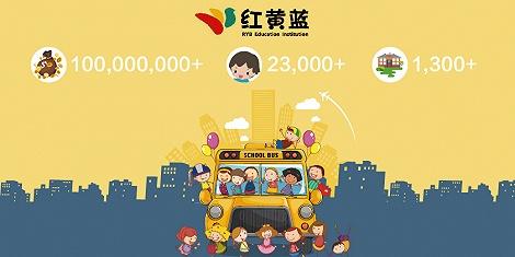 红黄蓝2万多学生贡献1亿美元学费 占净收入超7成