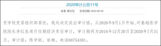 图片来源:武汉大学审计处