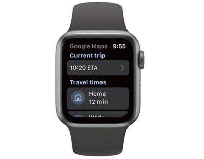 时隔三年后,谷歌地图重新登陆苹果Apple Watch