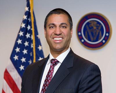 美联邦通讯委员会主席 Ajit Pair(图自:FCC官网)