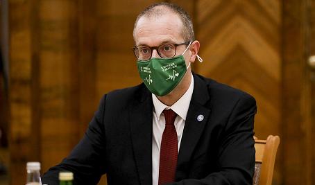 世界卫生组织欧洲地区办事处主任汉斯·克卢格