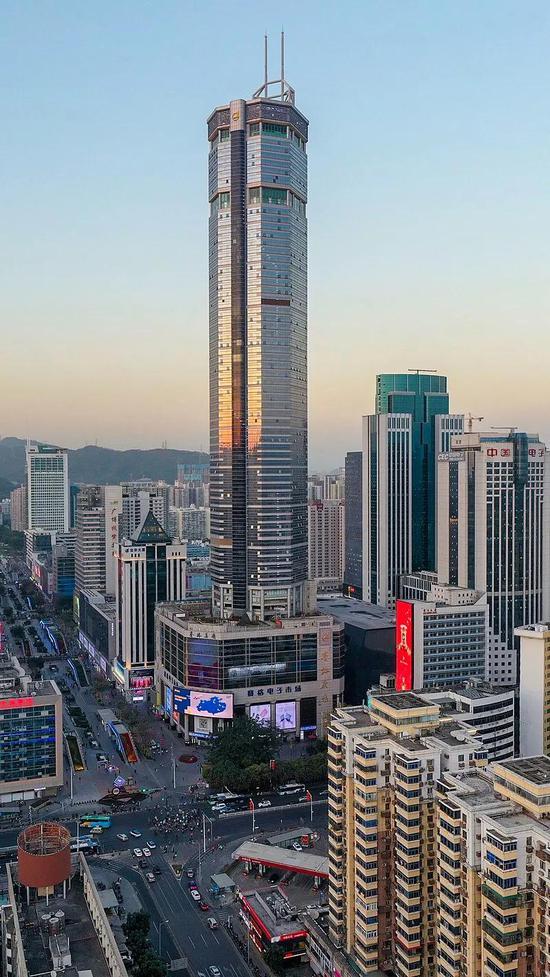 赛格大厦 | 图源:Wikipedia