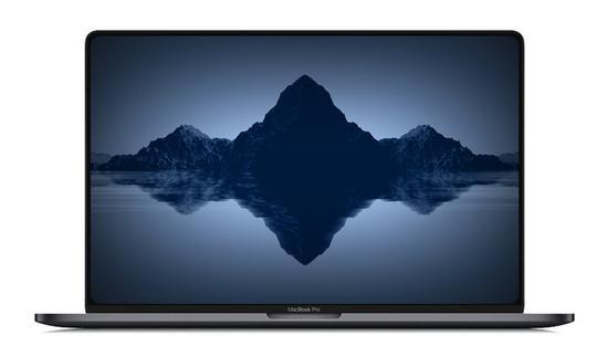 ▲ 16 英寸款 MacBook Pro 概念圖. 圖片來自:Macrumors