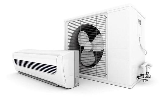 空调由室内机和室外机组成