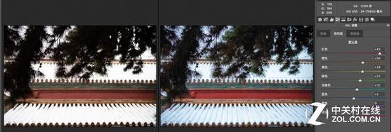 数码相机时代,后期色彩处理的雄厚性让相机自己的色彩显得不那么严重了