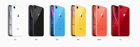 iPhone XR全色系