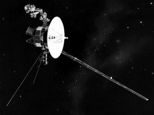 """""""旅行者2号""""探测器 图片来源:NASA"""