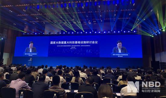 重庆市常务副市长吴存荣出席会议图片来源:每经记者鄢银婵 摄