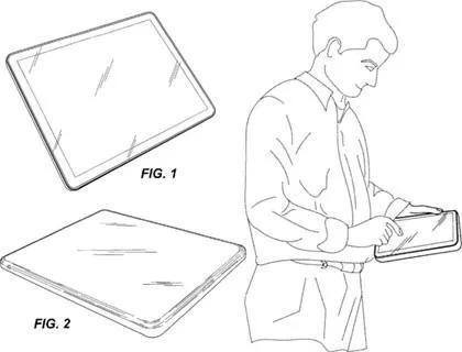 2004年苹果的平板电脑专利