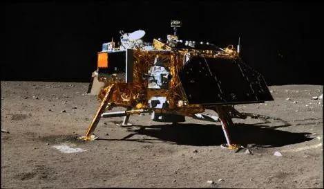 嫦娥3号着陆器(图片来源:中国空间技术钻研院)