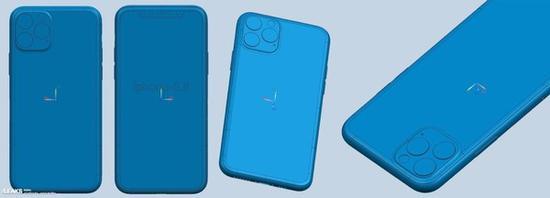 iPhone XI系列CAD渲染圖曝光 你想要的亮點它們都有