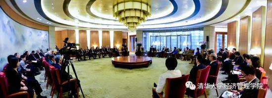 朱镕基会见清华经管学院顾问委员会委员