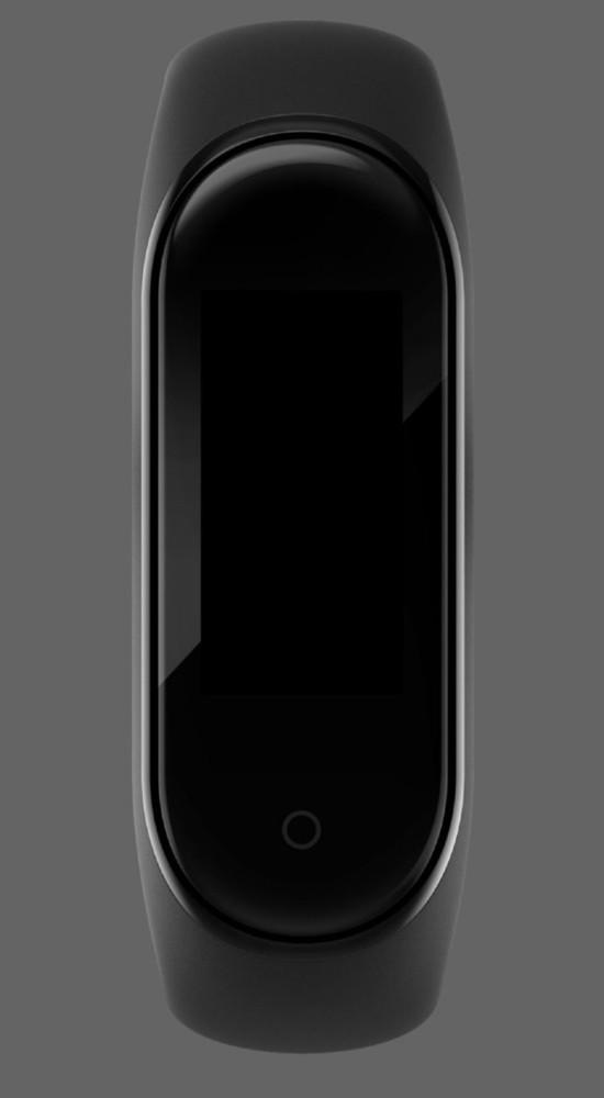 小米手环4渲染图(图源网络)