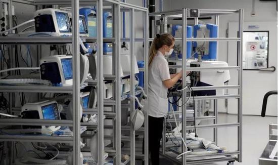 瑞士赶工的呼吸机制造商